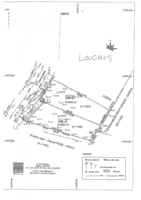 Terrains du constructeur SCP COLLETTE PATEY BERTIN ET MARTINE • 0 m² • ARDRES