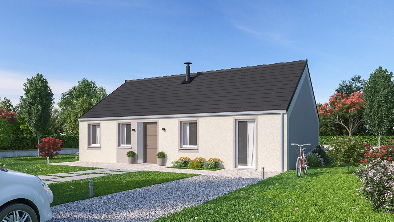 Maisons + Terrains du constructeur MAISONS PHENIX • 99 m² • COULOMMIERS