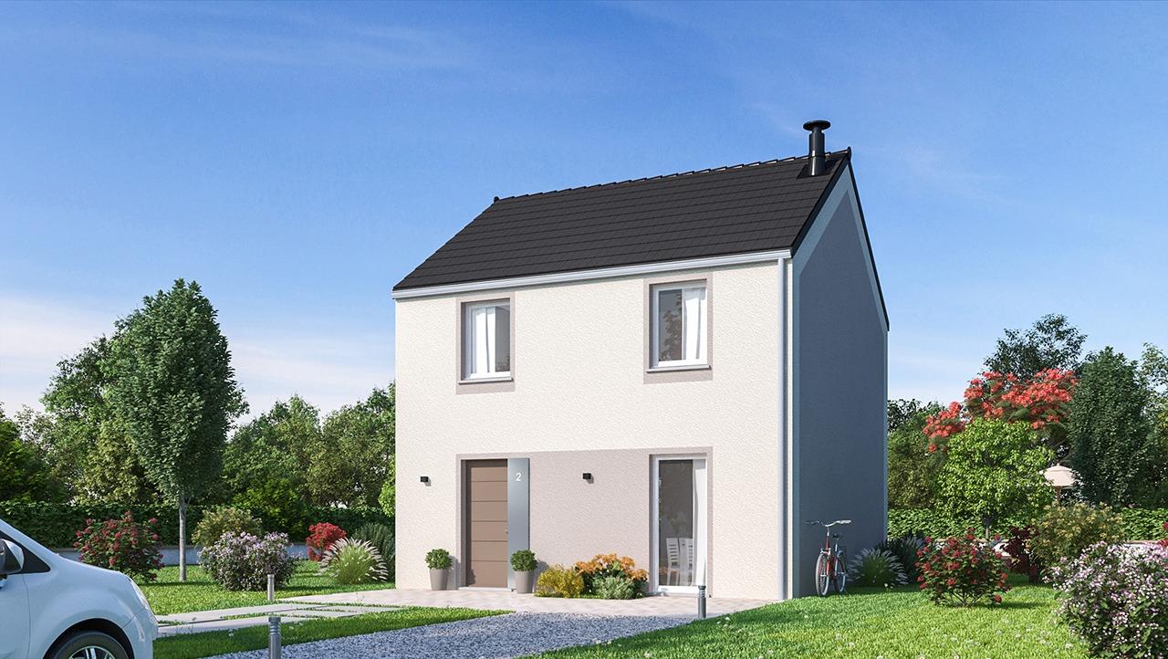 Maisons + Terrains du constructeur MAISONS PHENIX • 90 m² • BOISSY LE CHATEL