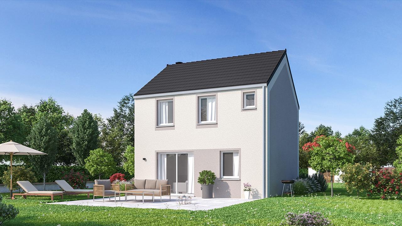 Maisons + Terrains du constructeur MAISONS PHENIX • 90 m² • JOUY LE CHATEL