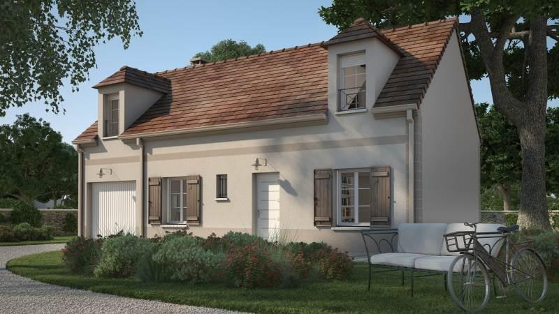 Maisons + Terrains du constructeur MAISONS BALENCY • 80 m² • VAUREAL