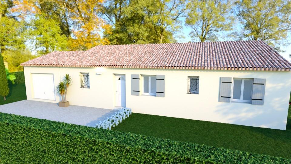 Maisons + Terrains du constructeur MAISONS FRANCE CONFORT • 93 m² • CALLAS