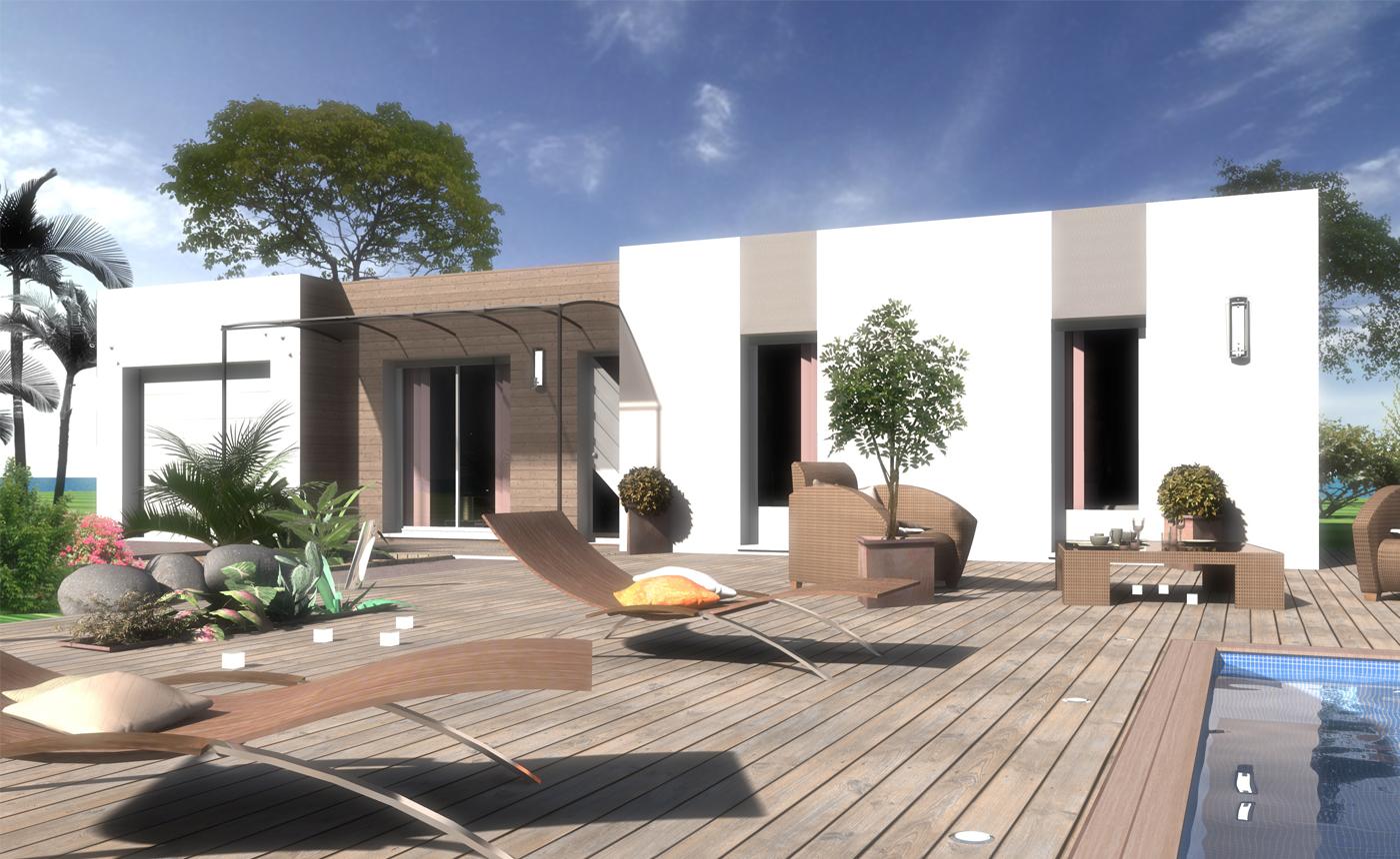 Maisons + Terrains du constructeur OC RESIDENCES • 87 m² • OUVEILLAN