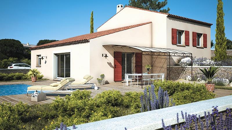 Maisons + Terrains du constructeur LES MAISONS DE MANON • 90 m² • LIOUC