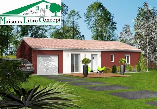 Maisons du constructeur STARBAT • 100 m² • LA CHAPELLE DE LA TOUR