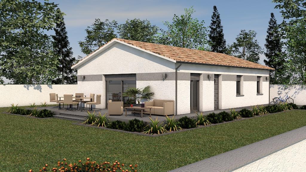 Maisons du constructeur STARBAT • 100 m² • BRIORD