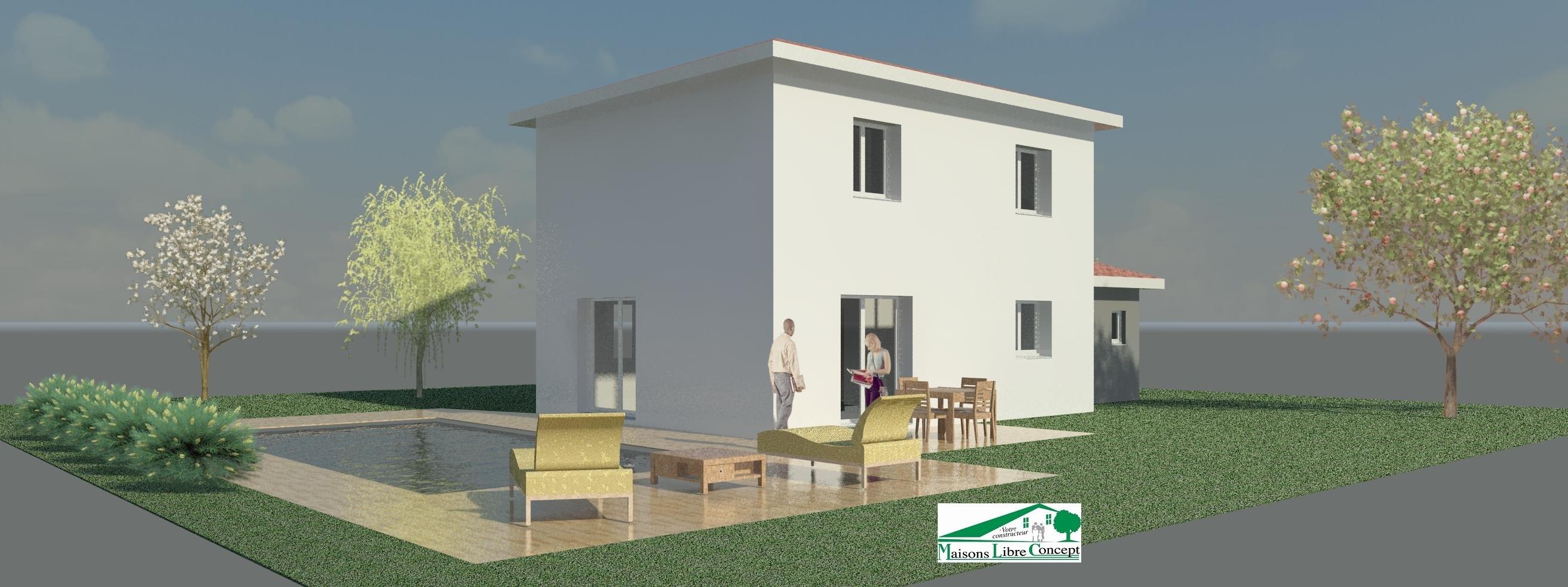 Maisons du constructeur STARBAT • 92 m² • LAGNIEU