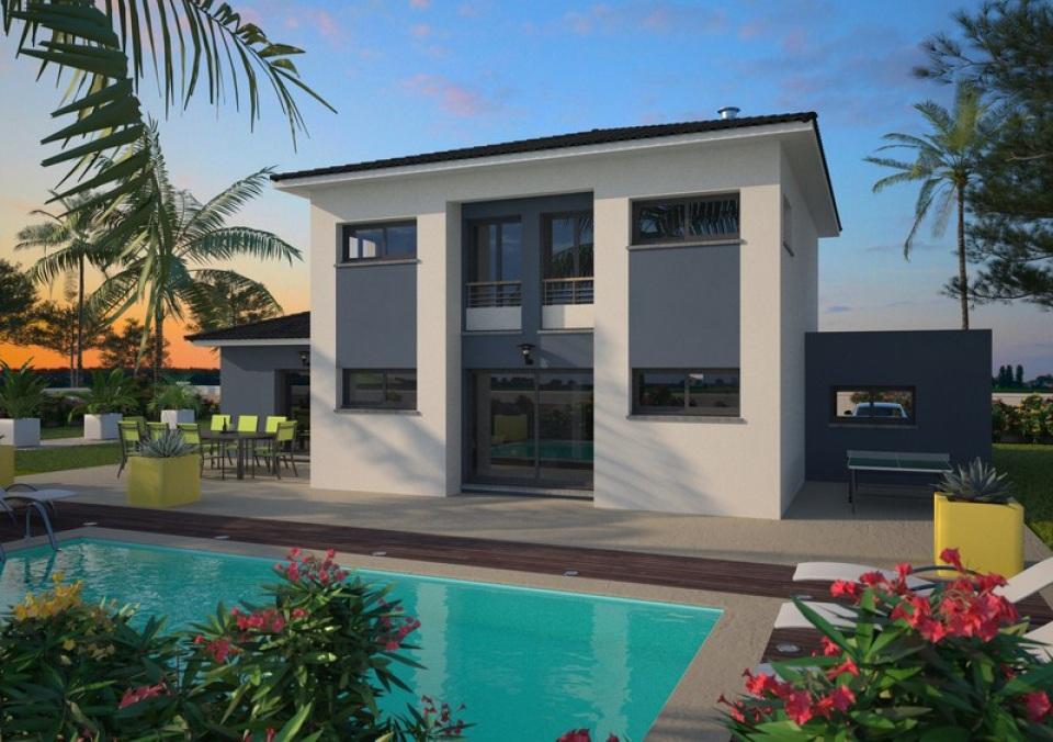 Maisons + Terrains du constructeur MAISONS FRANCE CONFORT • 90 m² • PECHBONNIEU