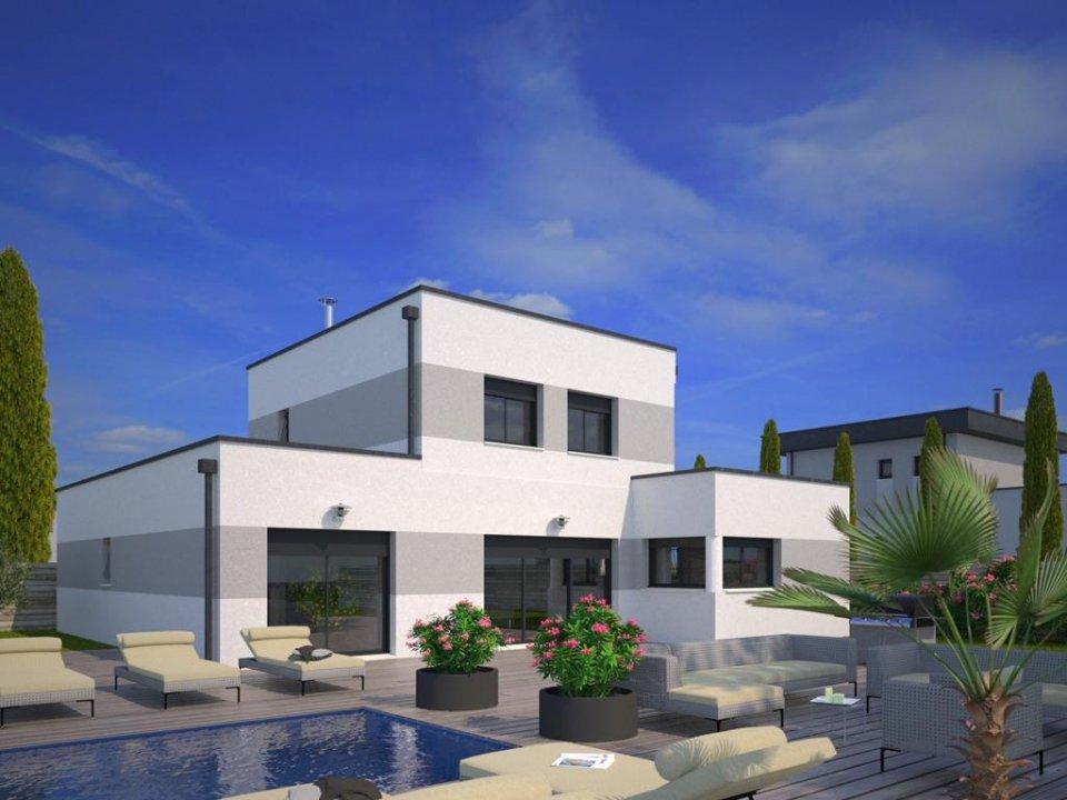 Maisons + Terrains du constructeur MAISONS FRANCE CONFORT • 130 m² • LAUNAGUET