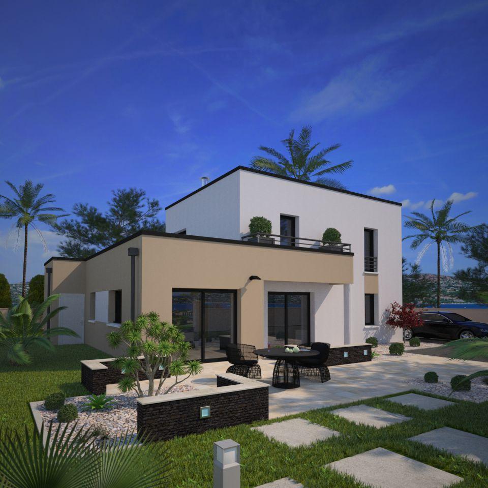 Maisons + Terrains du constructeur MAISONS FRANCE CONFORT • 110 m² • SAINT RUSTICE