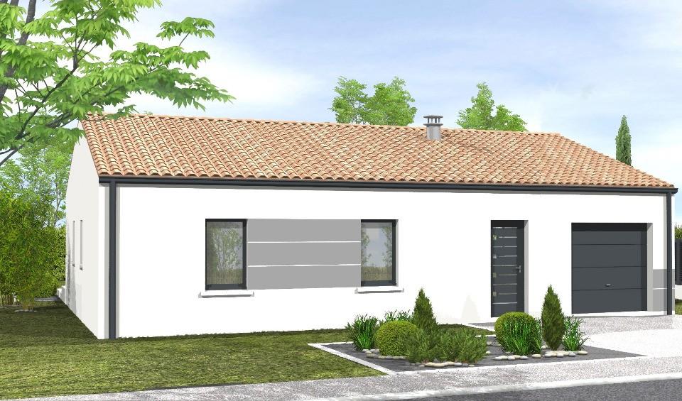 Maisons + Terrains du constructeur LMP CONSTRUCTEUR • 65 m² • SAINT HILAIRE DE RIEZ