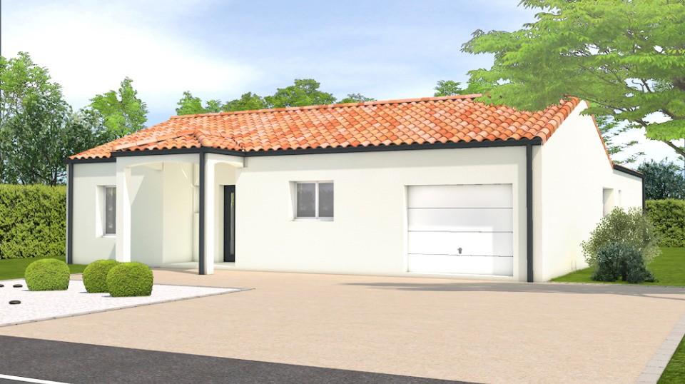 Maisons + Terrains du constructeur LMP CONSTRUCTEUR • 136 m² • JARD SUR MER