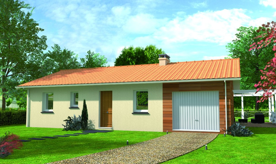 Maisons + Terrains du constructeur LMP CONSTRUCTEUR • 76 m² • MOUTIERS LES MAUXFAITS