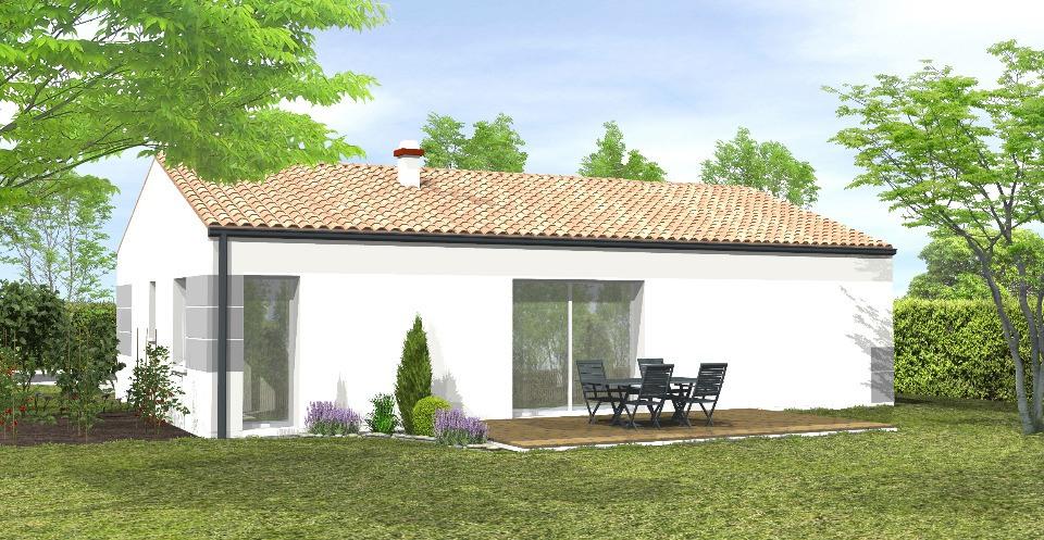 Maisons + Terrains du constructeur LMP CONSTRUCTEUR • 62 m² • OULMES