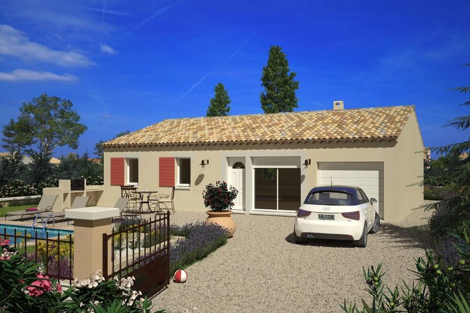 Maisons + Terrains du constructeur LMP CONSTRUCTEUR • 76 m² • FONTAINES