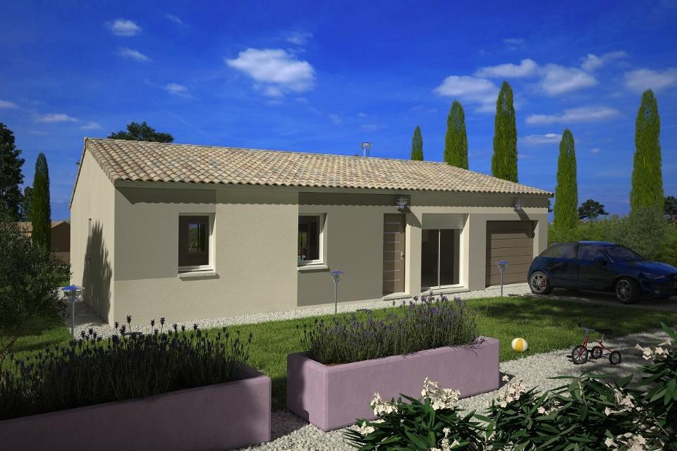 Maisons + Terrains du constructeur LMP CONSTRUCTEUR • 60 m² • BREUIL BARRET