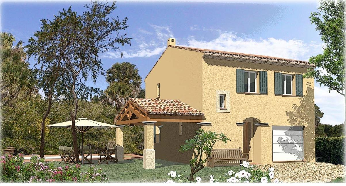 Maisons + Terrains du constructeur SAS MAISONS BLANCHES •  m² • SAINT ZACHARIE