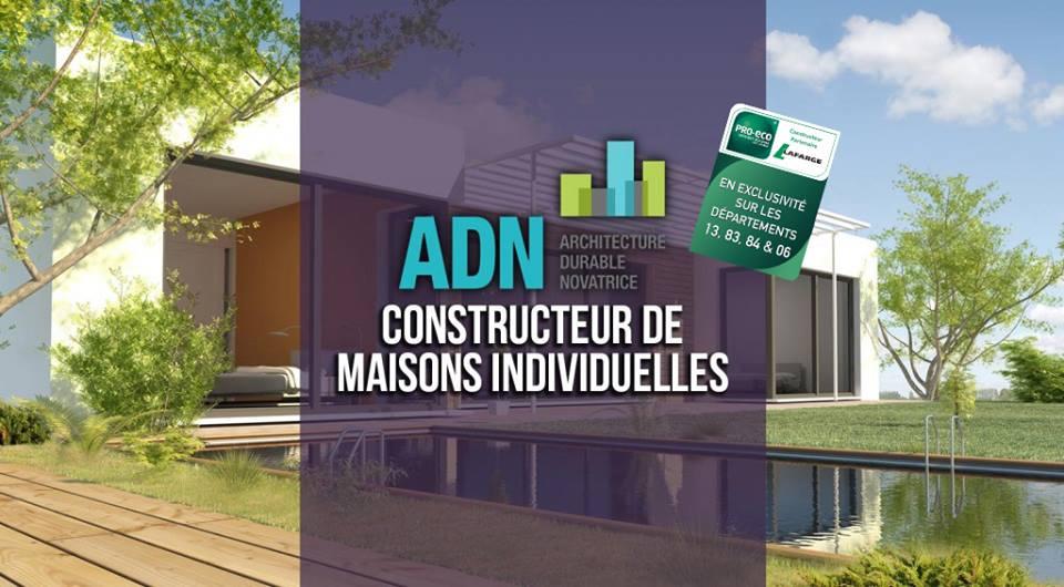 Maisons + Terrains du constructeur ADN CONSTRUCTION • 100 m² • SAINT RAPHAEL