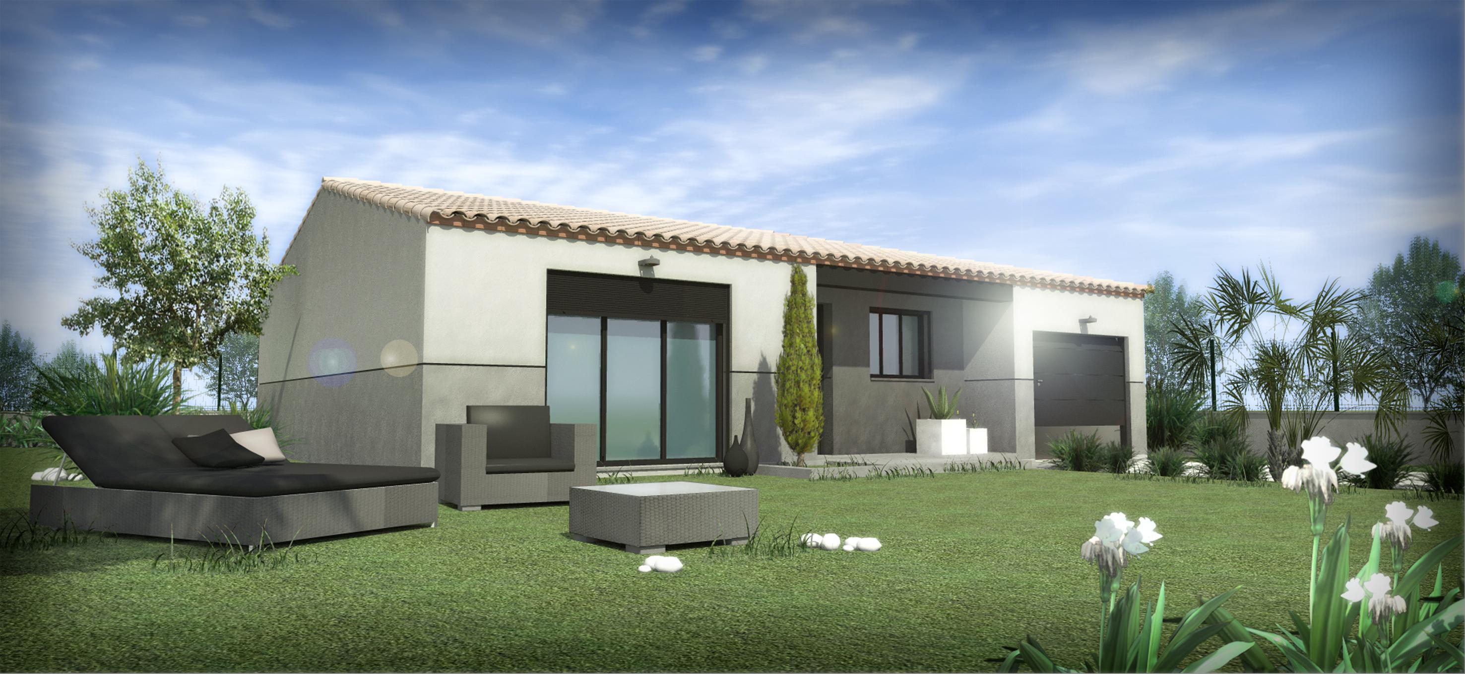 Maisons + Terrains du constructeur SM 11 • 80 m² • VILLEGAILHENC
