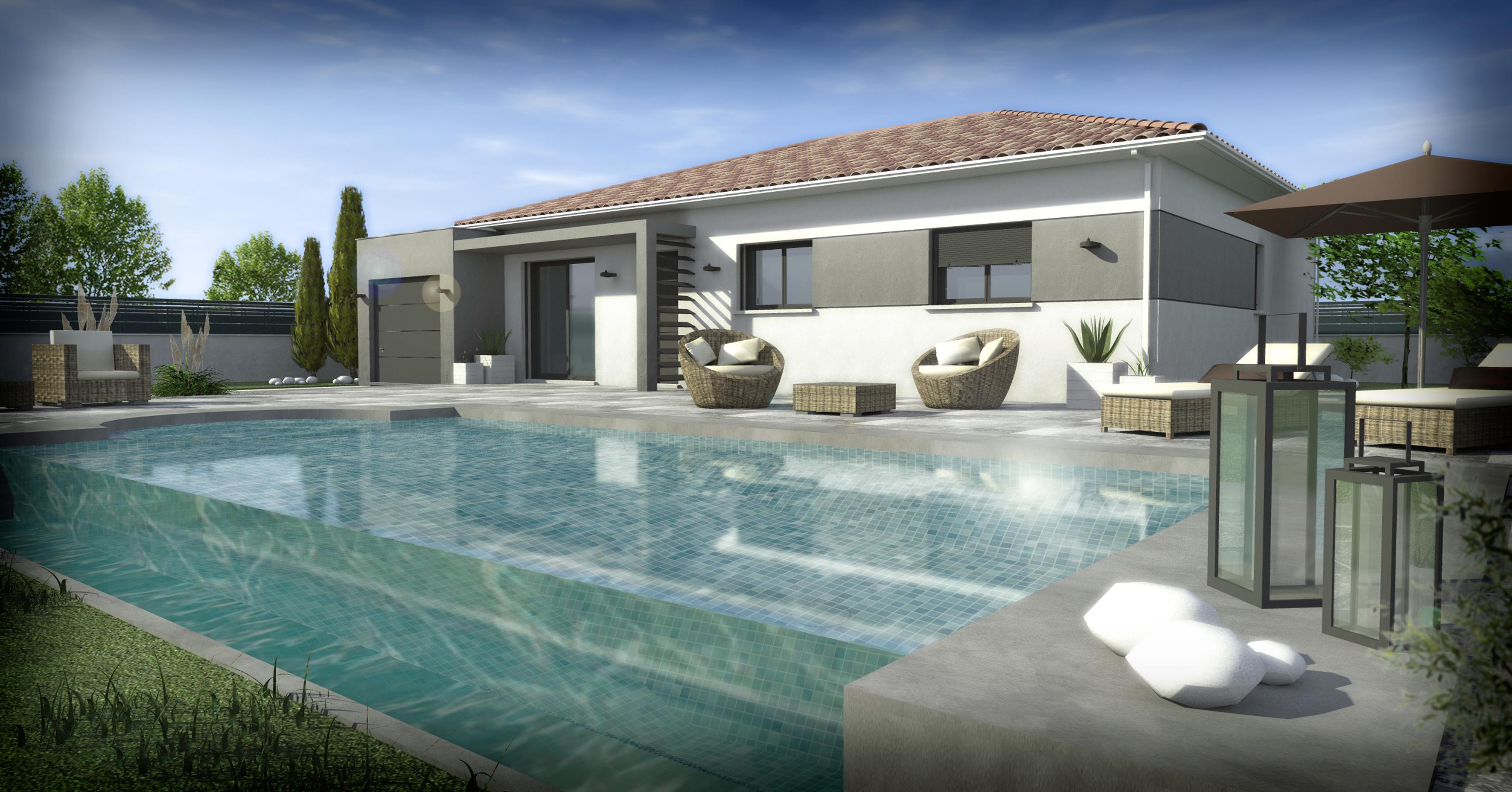 Maisons + Terrains du constructeur SM 11 • 95 m² • ESCALES