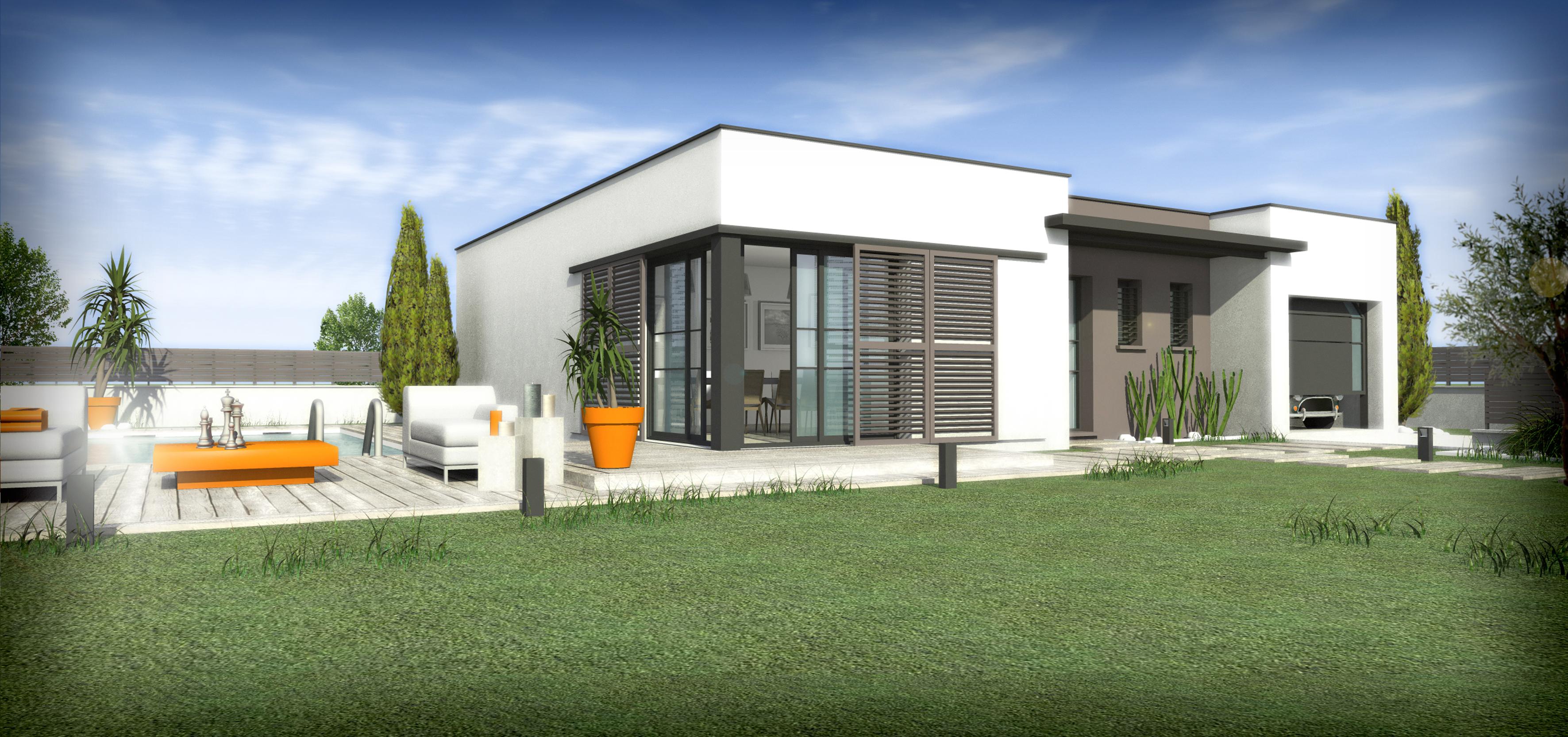 Maisons + Terrains du constructeur SM 11 • 90 m² • CARCASSONNE
