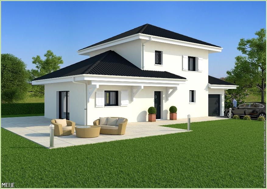 Maisons + Terrains du constructeur MCA • 118 m² • VALLIERES