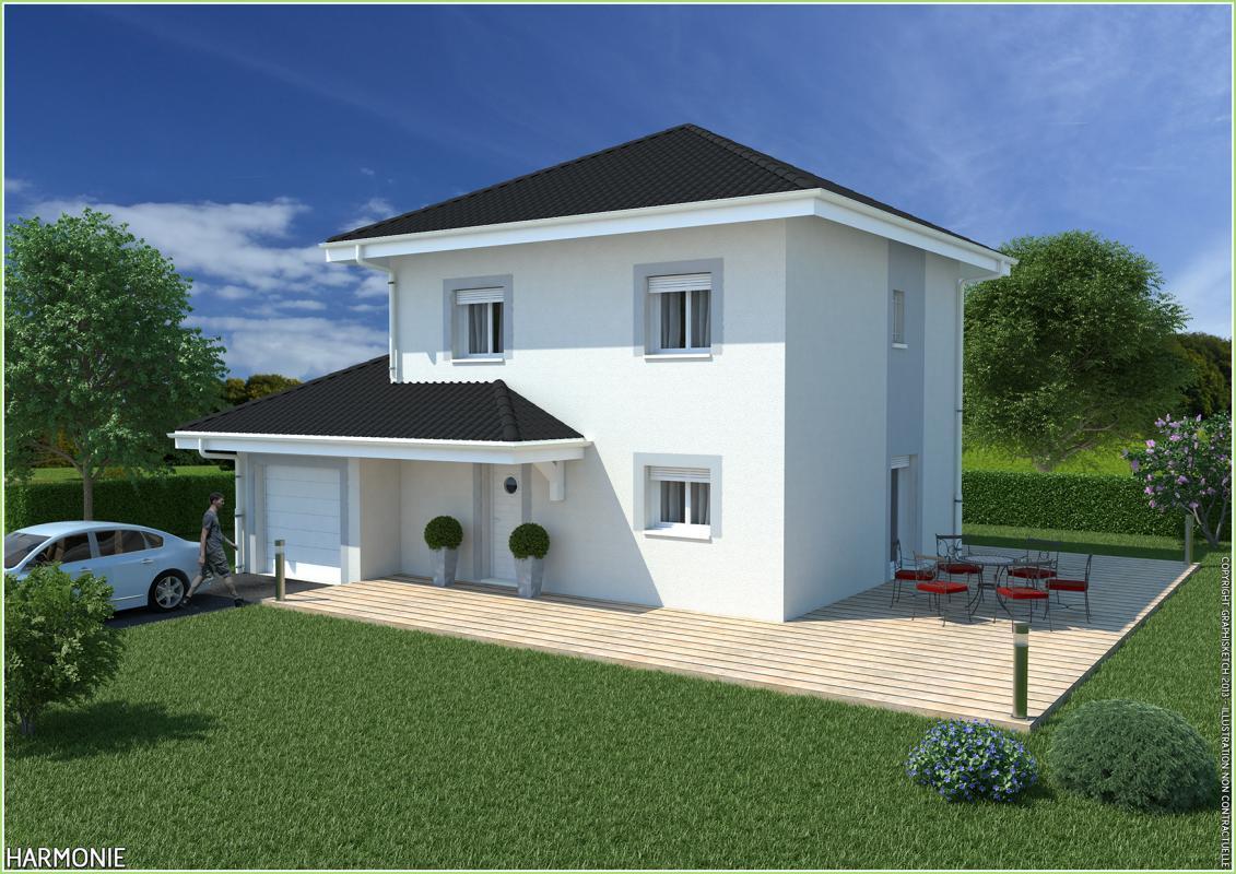 Maisons + Terrains du constructeur MCA • 100 m² • POISY