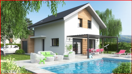 Maisons + Terrains du constructeur MCA • 103 m² • THONES