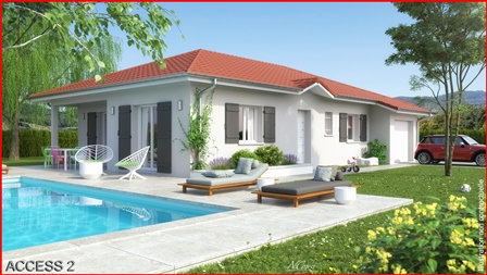 Maisons + Terrains du constructeur MCA • 105 m² • NONGLARD