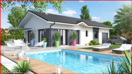 Maisons + Terrains du constructeur MCA • 87 m² • CERNEX