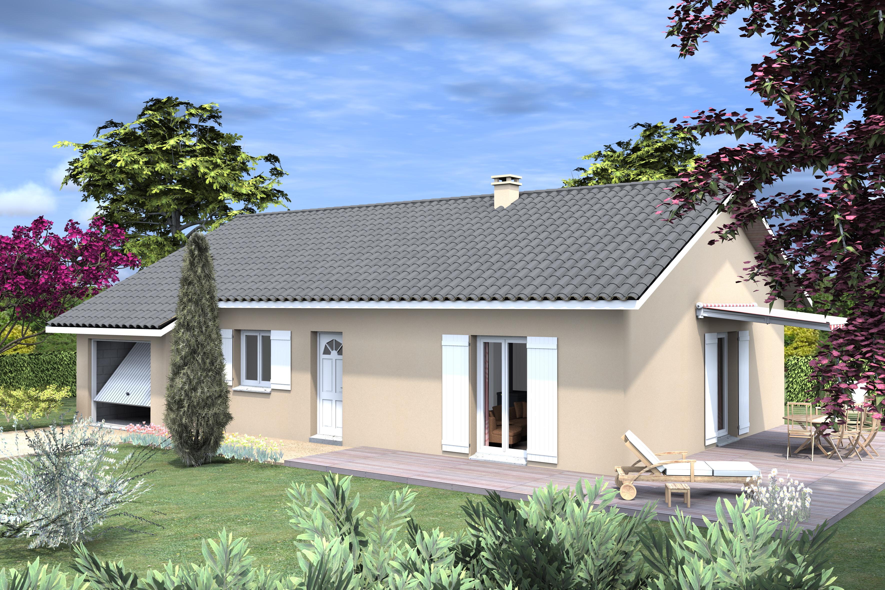 Maisons du constructeur LVA LES VOIRONELLES • SAINT HILAIRE DE LA COTE