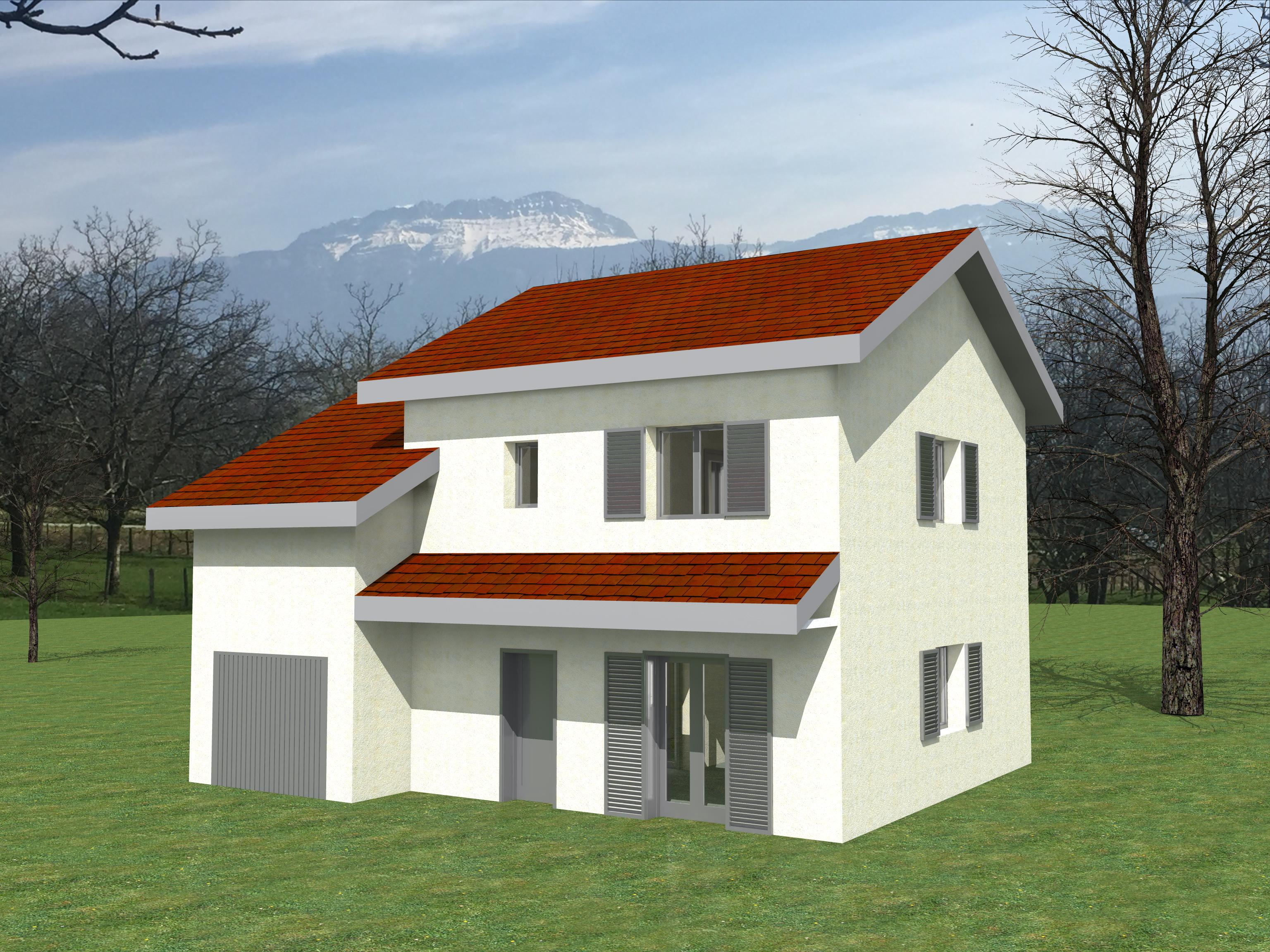Maisons + Terrains du constructeur LVA LES VOIRONELLES • VOIRON