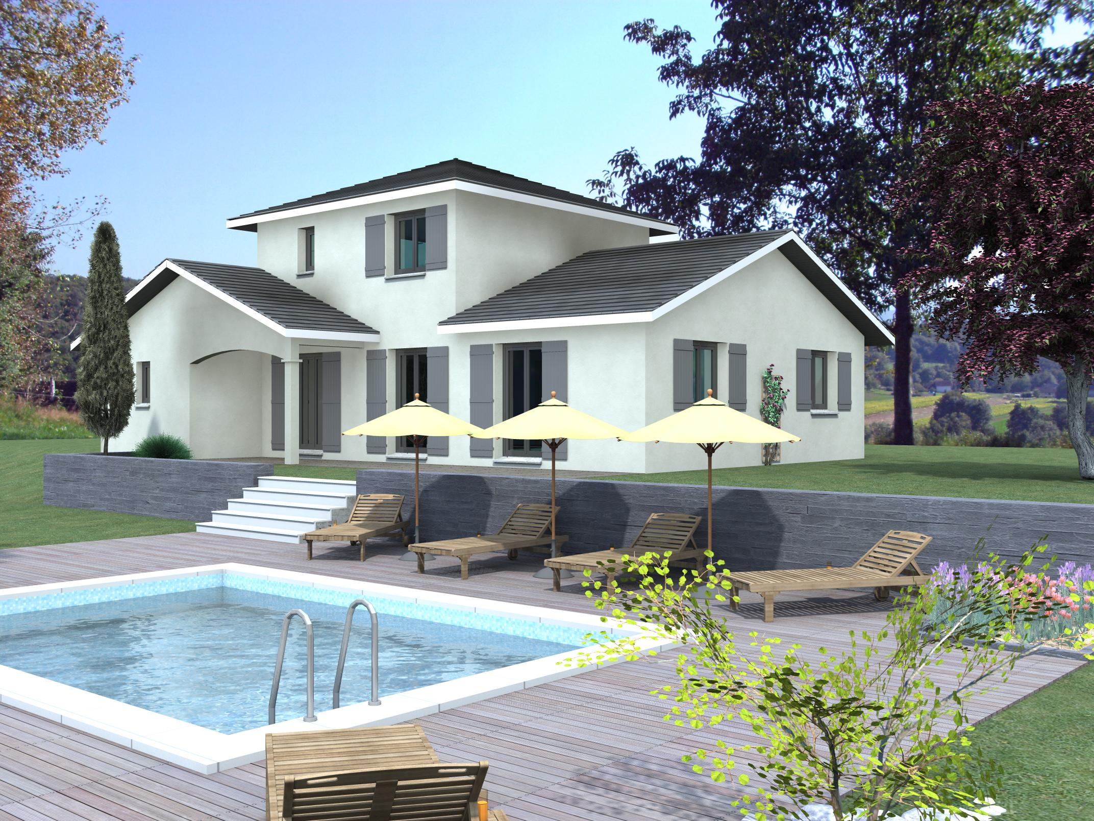 Maisons du constructeur LVA LES VOIRONELLES • 117 m² • VOIRON