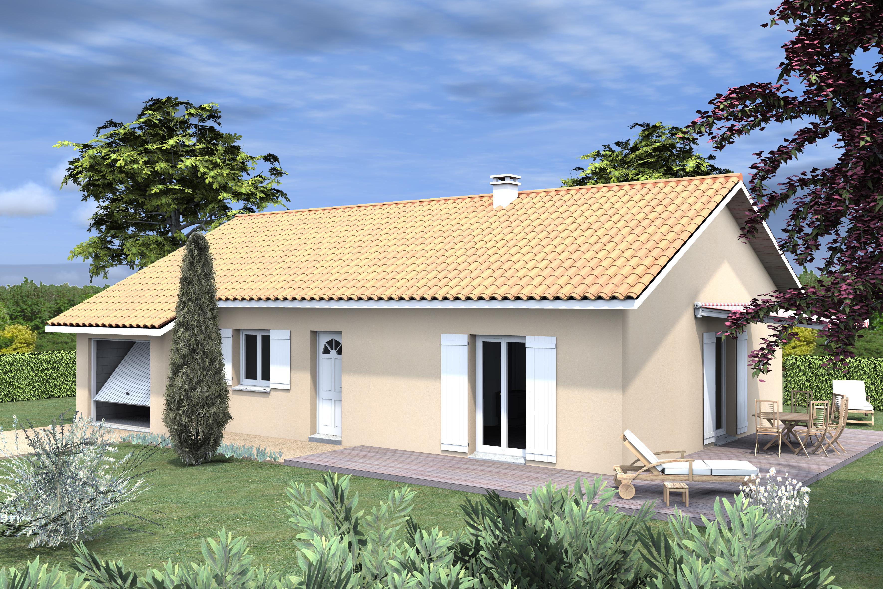 Maisons + Terrains du constructeur LVA LES VOIRONELLES • 93 m² • VOIRON