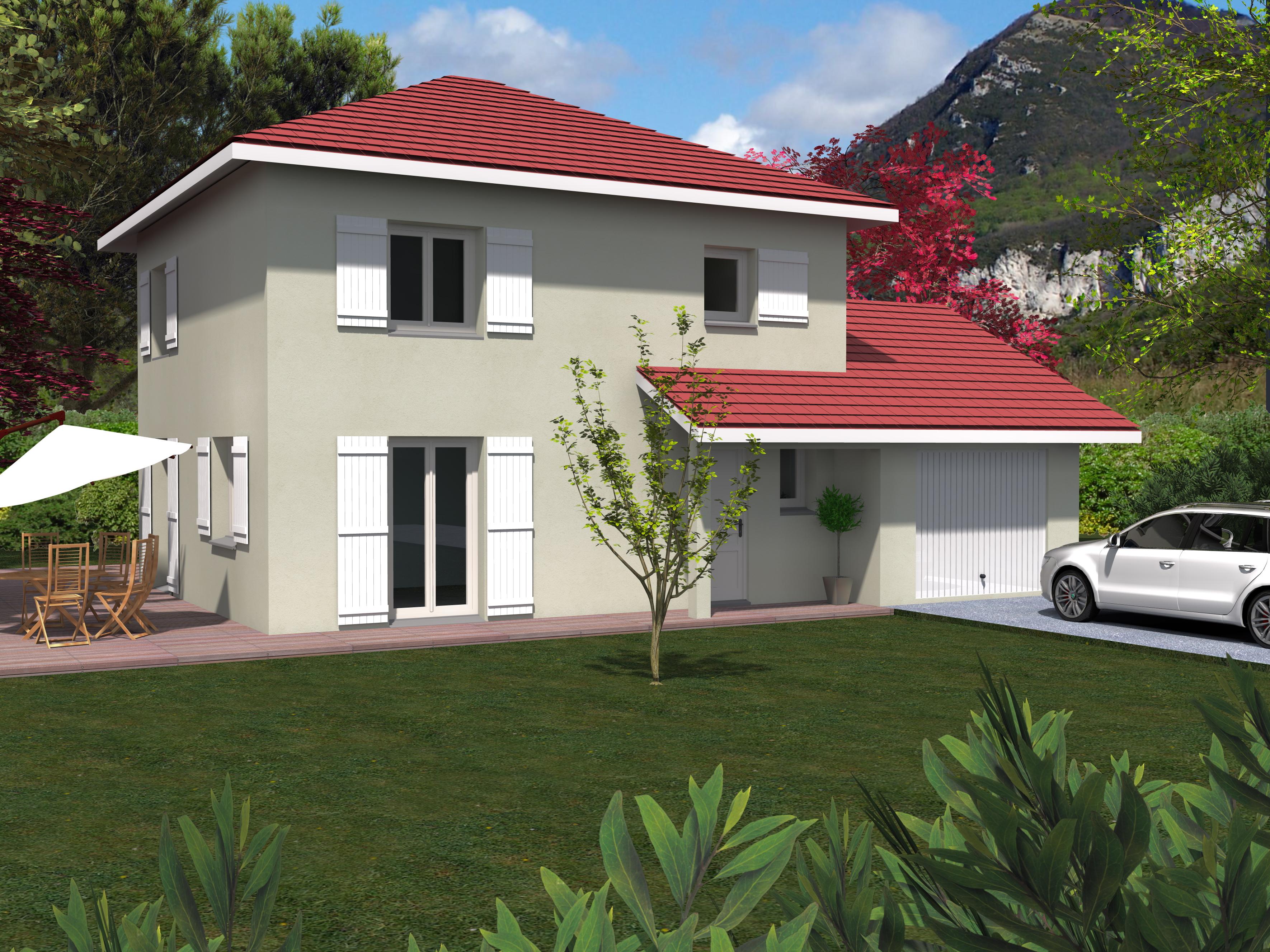 Maisons + Terrains du constructeur LVA LES VOIRONELLES • 90 m² • VOIRON