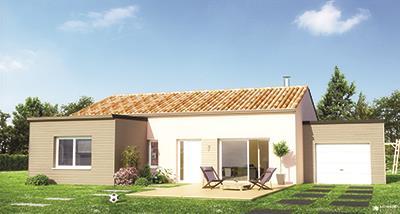 Maisons + Terrains du constructeur MAISON FAMILIALE • 90 m² • PONT DE CHERUY