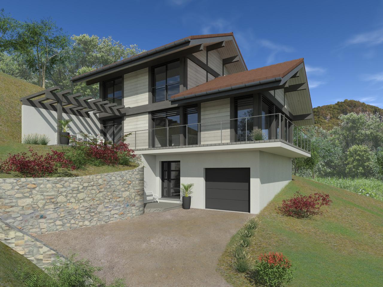 Maisons + Terrains du constructeur EDEN HOME • 125 m² • VOVRAY EN BORNES