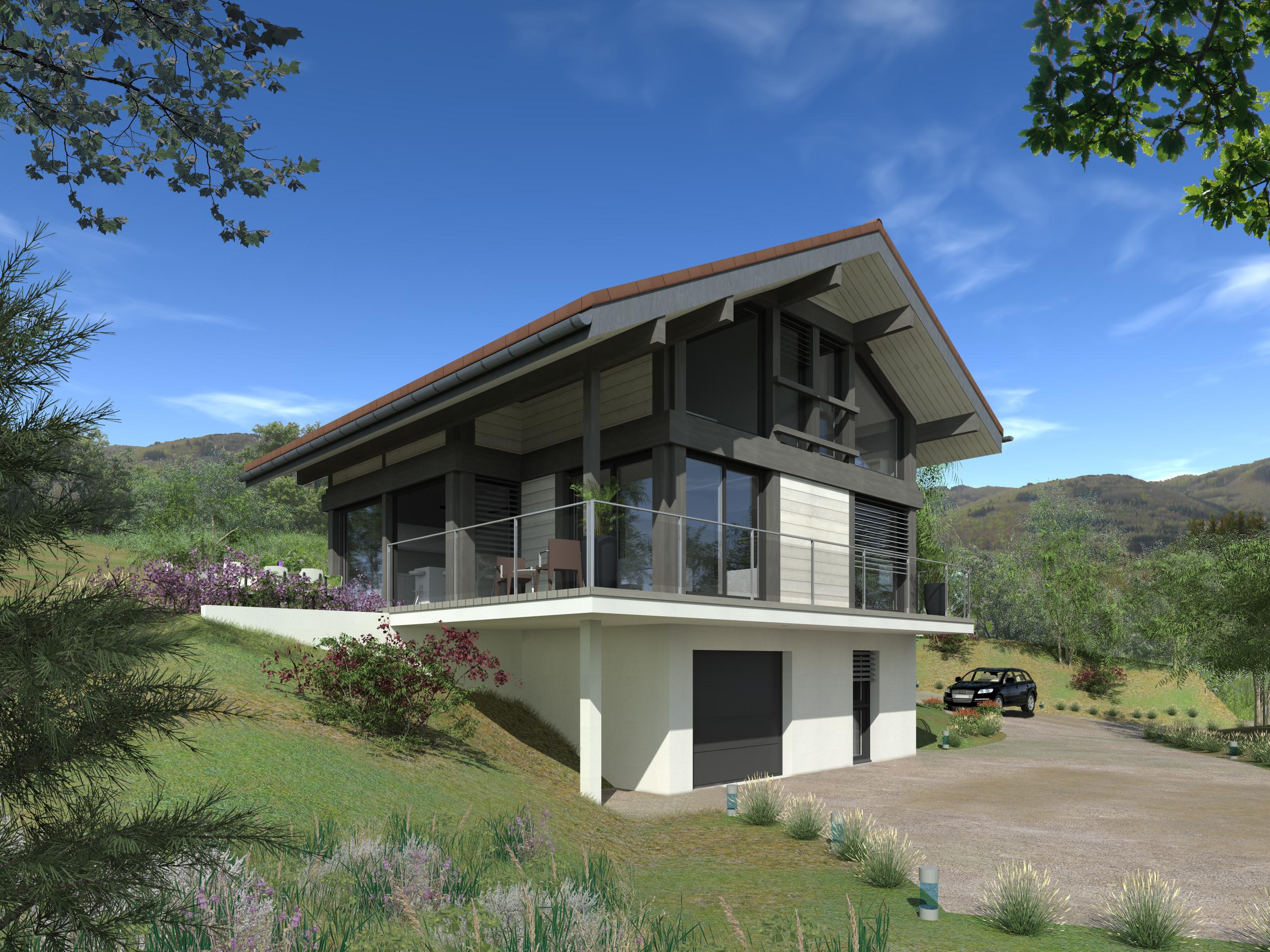 Maisons + Terrains du constructeur EDEN HOME • 156 m² • VETRAZ MONTHOUX