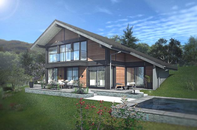 Maisons + Terrains du constructeur EDEN HOME • 138 m² • ALLONZIER LA CAILLE