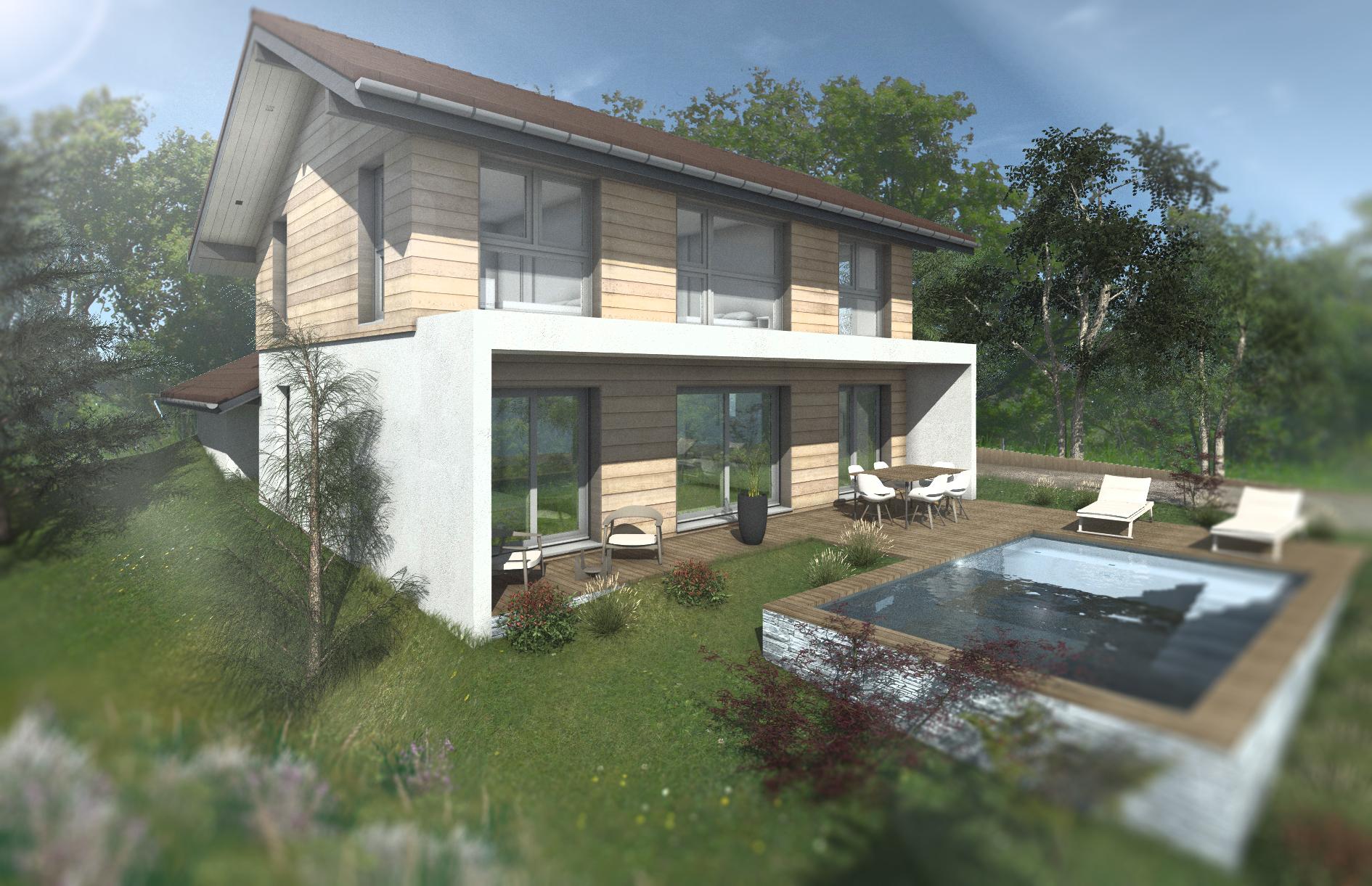 Maisons + Terrains du constructeur EDEN HOME • 130 m² • VIRY