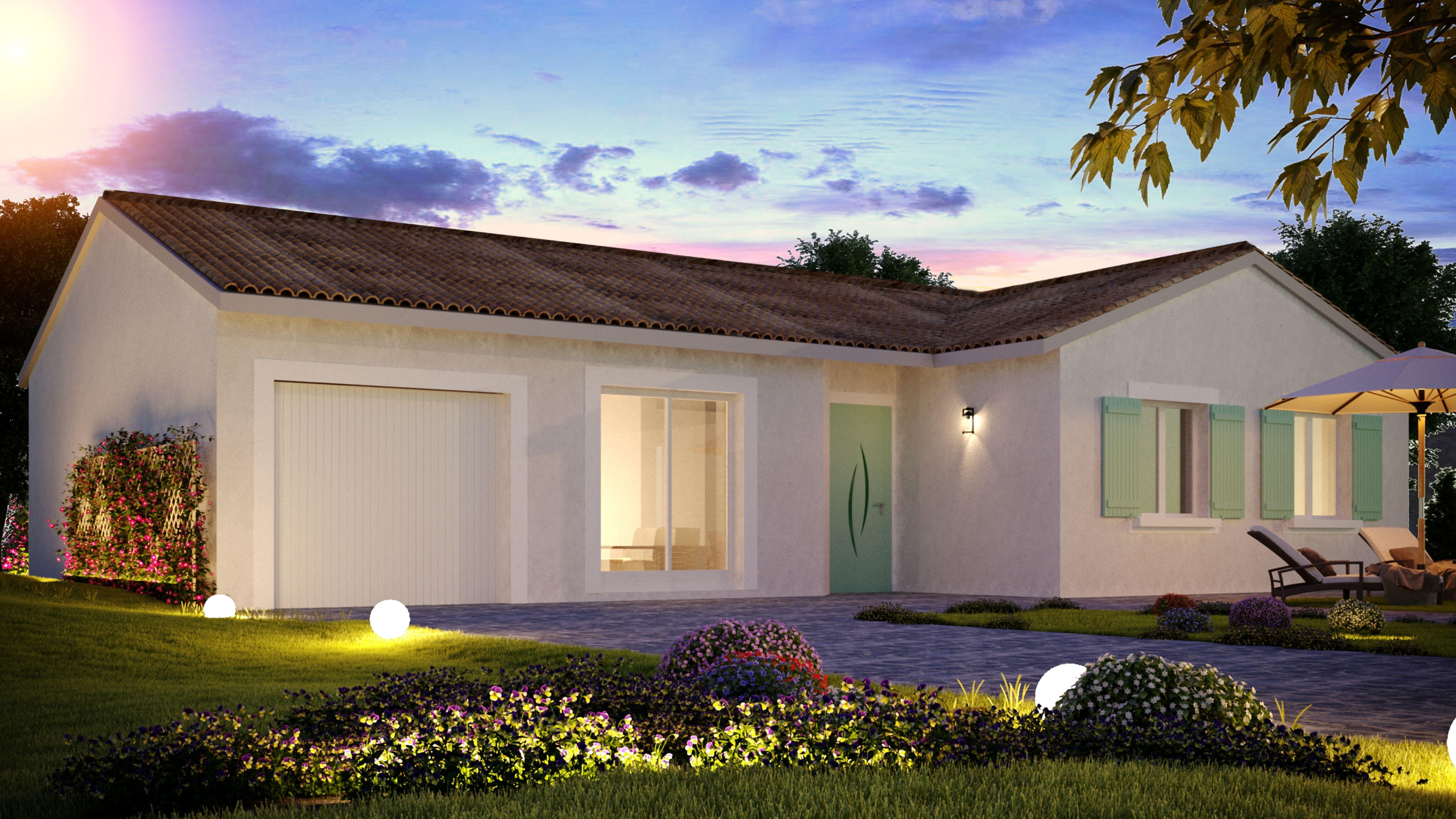 Maisons + Terrains du constructeur VIV'HOME • 91 m² • THAIRE
