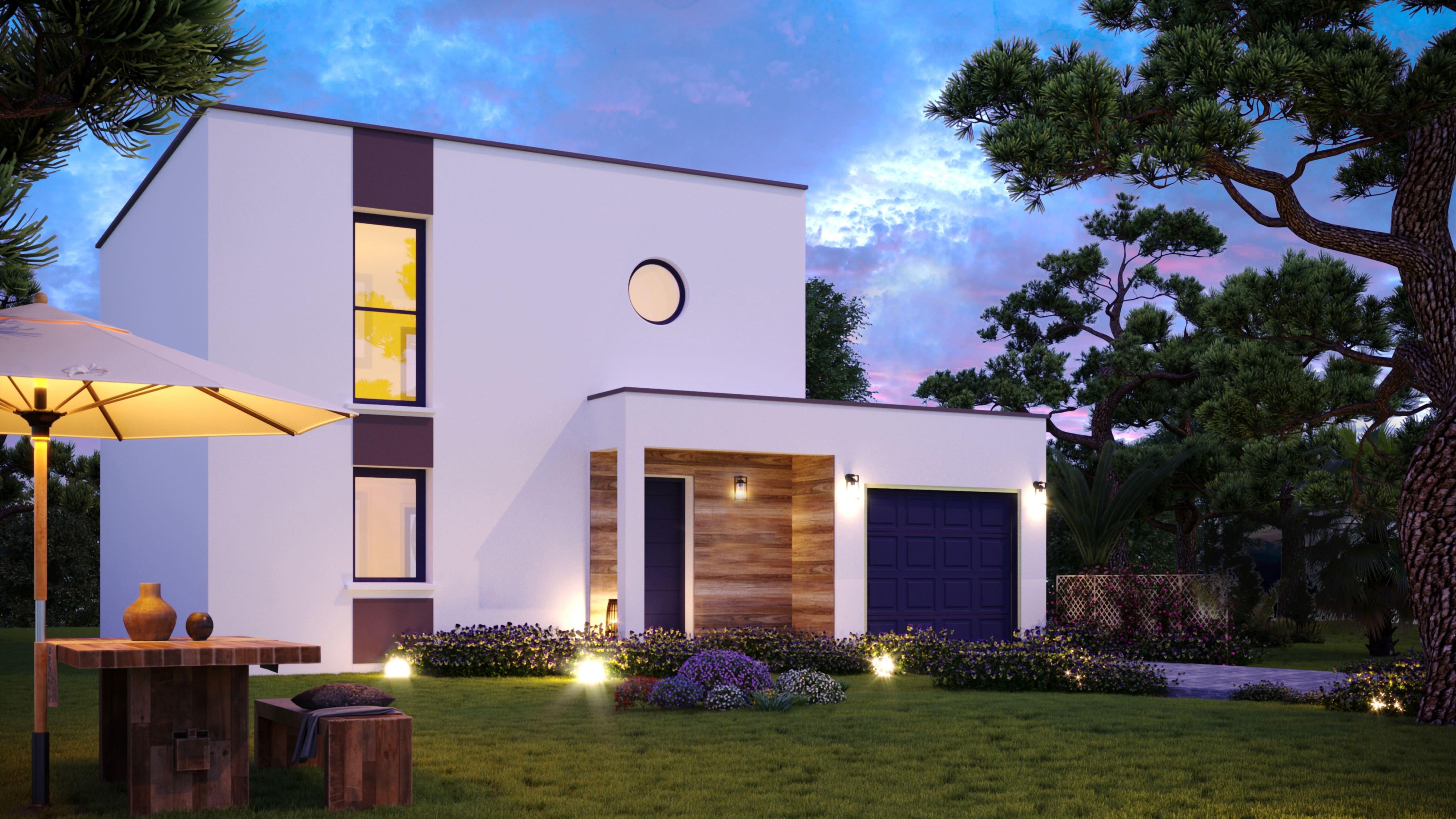 Maisons + Terrains du constructeur VIV'HOME • 93 m² • SALLES SUR MER