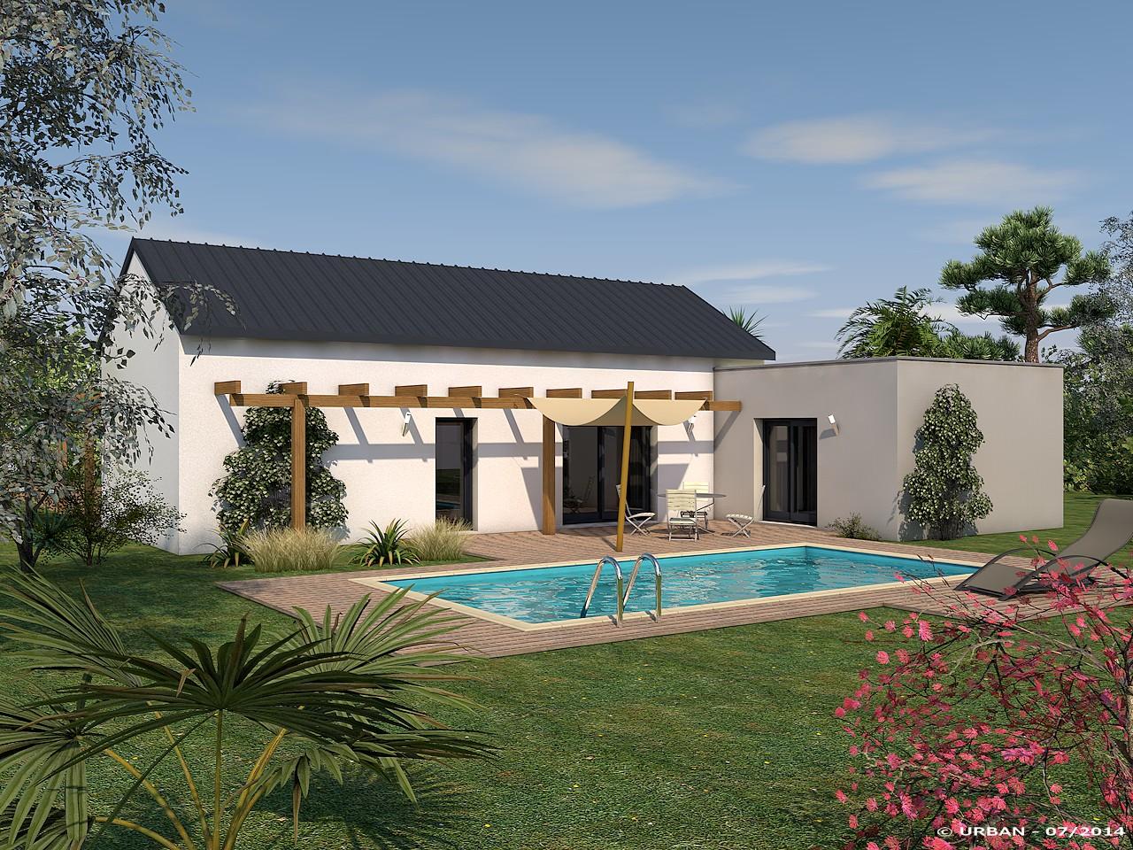 Maisons + Terrains du constructeur VIV'HOME • 100 m² • CHATELAILLON PLAGE
