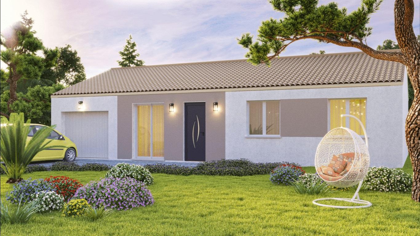 Maisons du constructeur VIV'HOME • 90 m² • LE GUE D'ALLERE