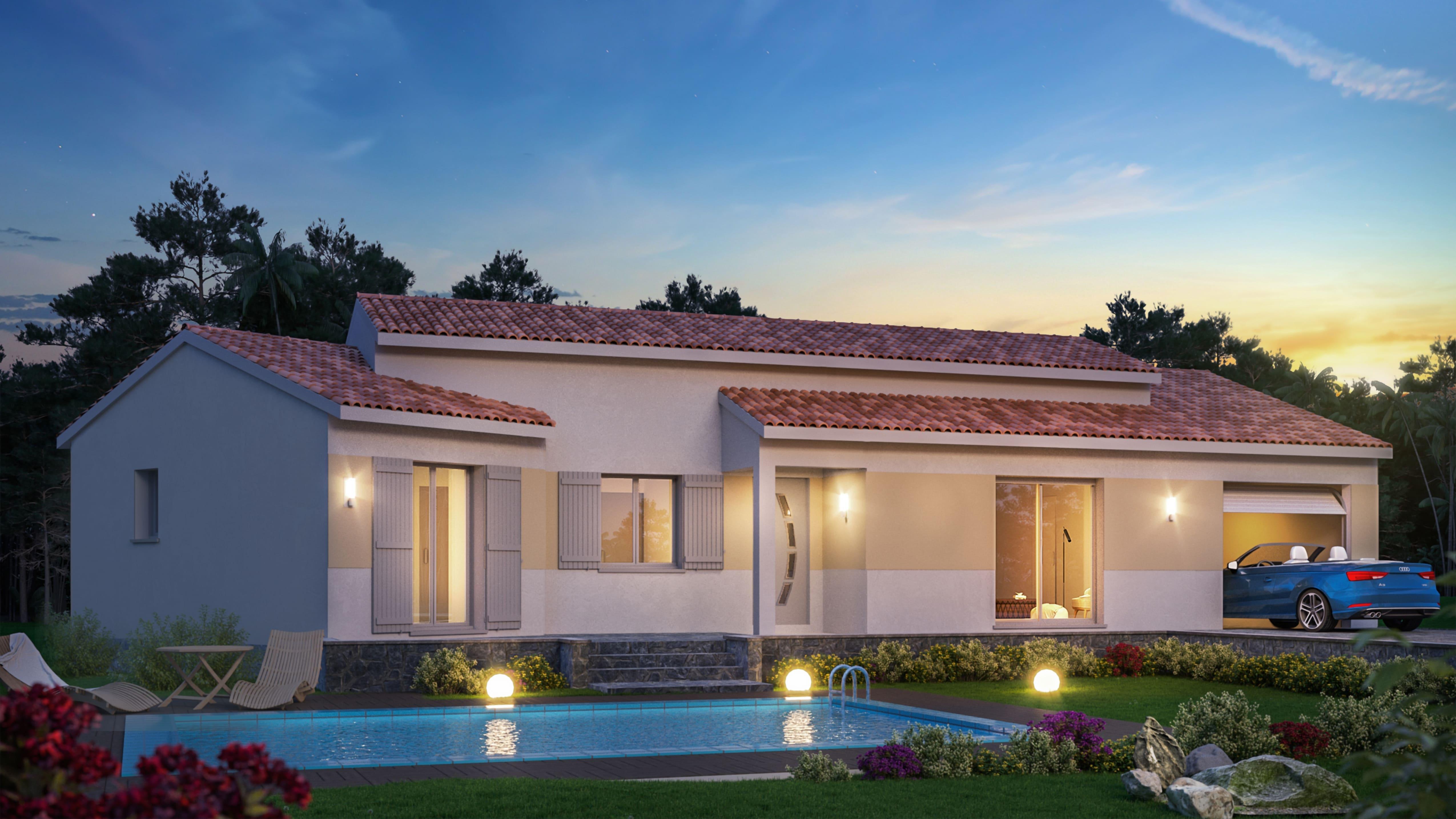 Maisons du constructeur VIV'HOME • 116 m² • MEDIS