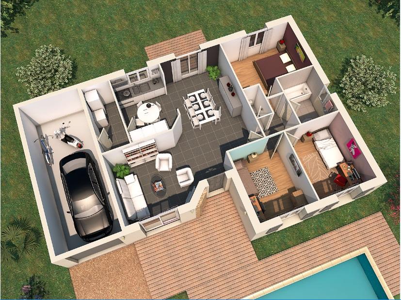 Maisons du constructeur VIV'HOME • 91 m² • MEDIS