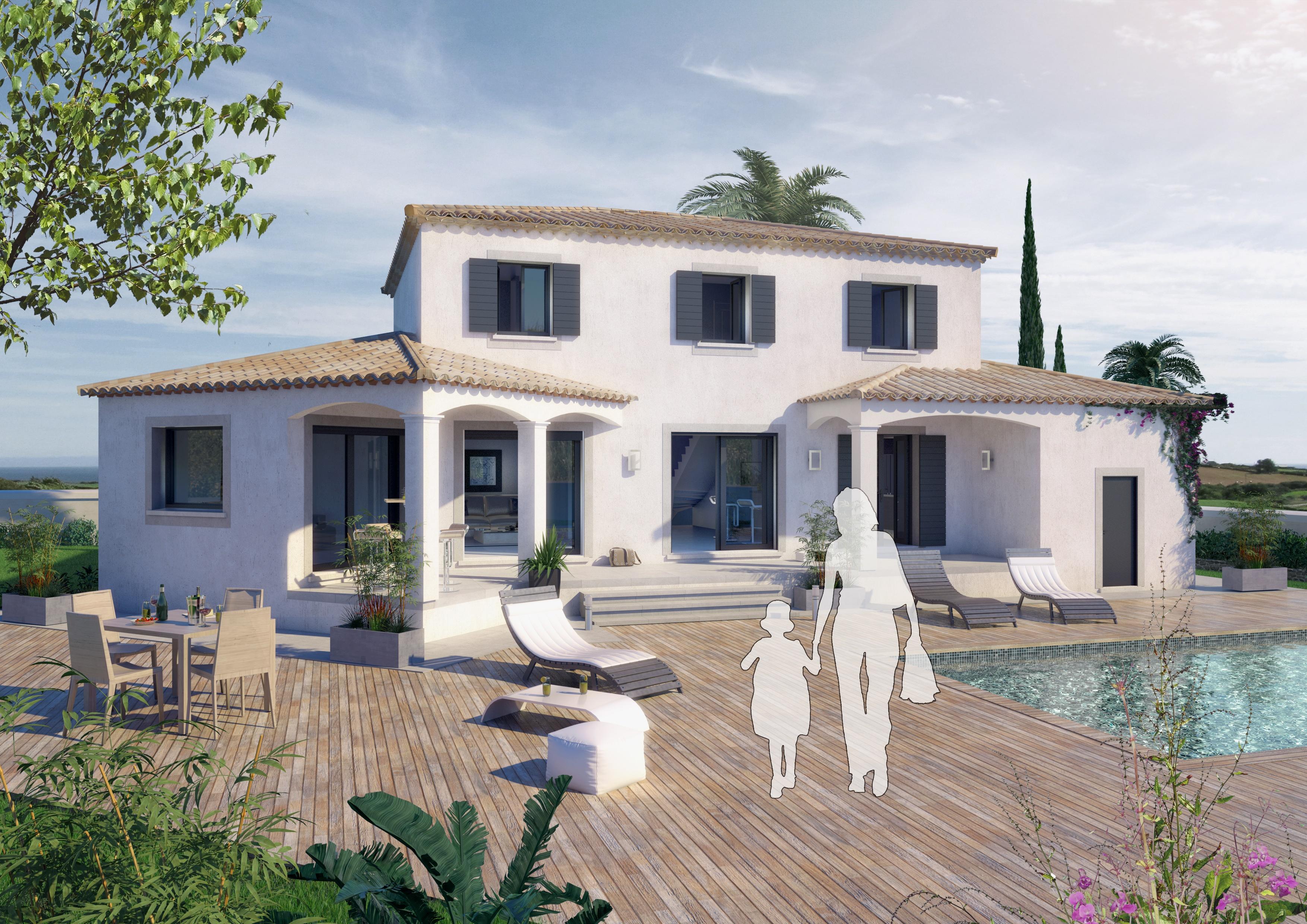 Maisons + Terrains du constructeur ART ET TRADITIONS MEDITERRANEE • 145 m² • UZES