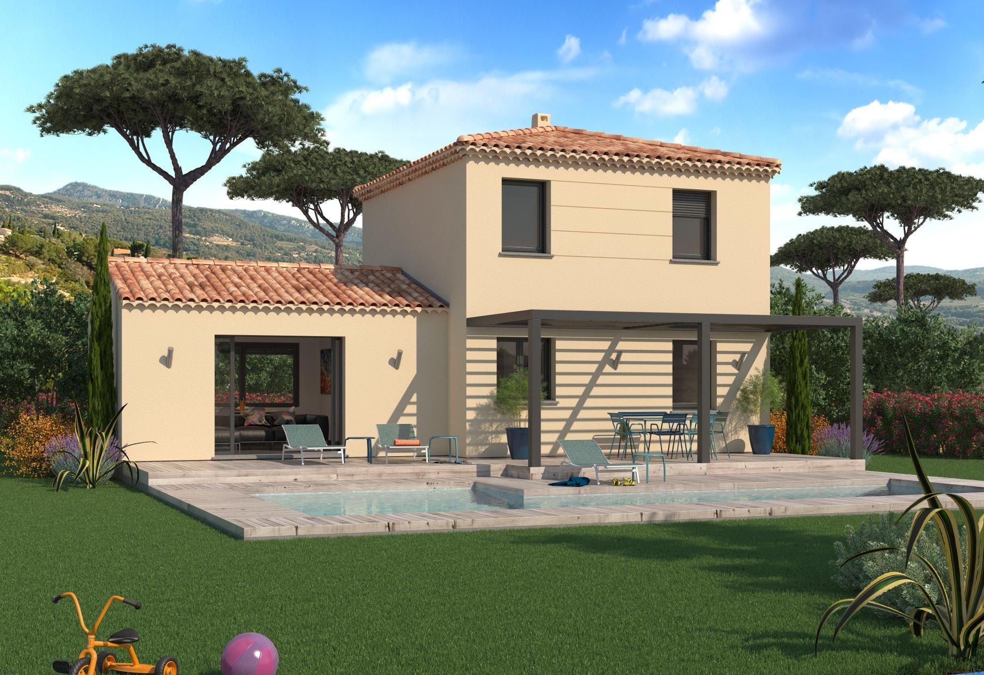 Maisons + Terrains du constructeur MAISON FAMILIALE • 90 m² • ROQUEBRUNE SUR ARGENS