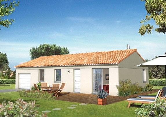 Maisons + Terrains du constructeur MAISON FAMILIALE • 74 m² • ROQUEBRUNE SUR ARGENS