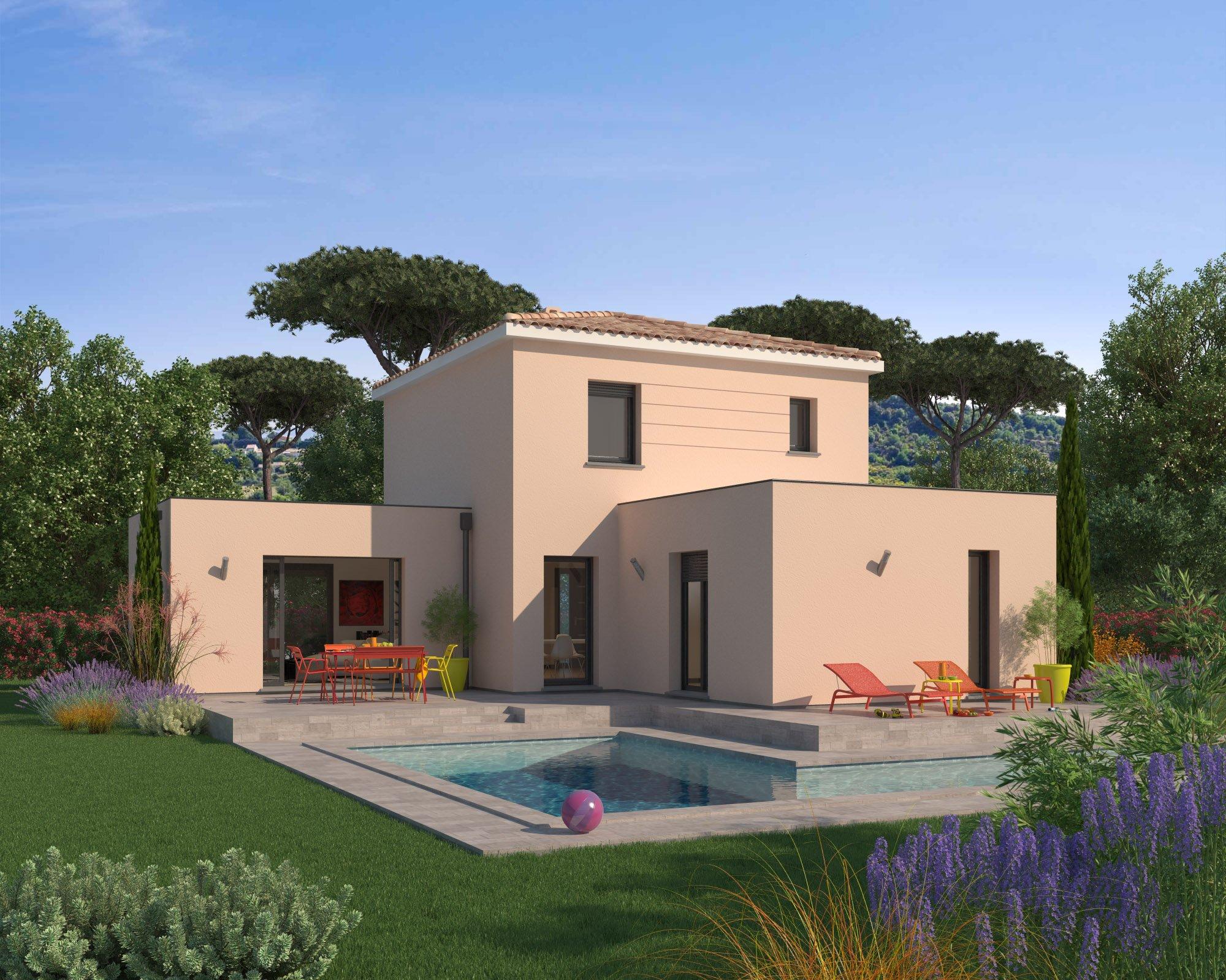 Maisons + Terrains du constructeur MAISON FAMILIALE • 131 m² • PUGET SUR ARGENS